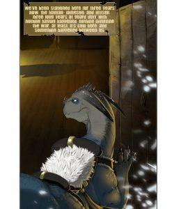 Heavy Snow gay furry comic