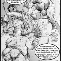 Hot Shopping gay furry comic