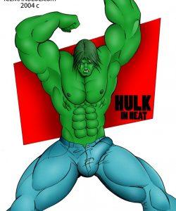 Hulk In Heat gay furry comic