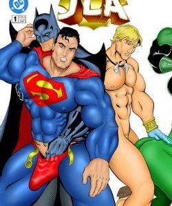 JLA gay furry comic