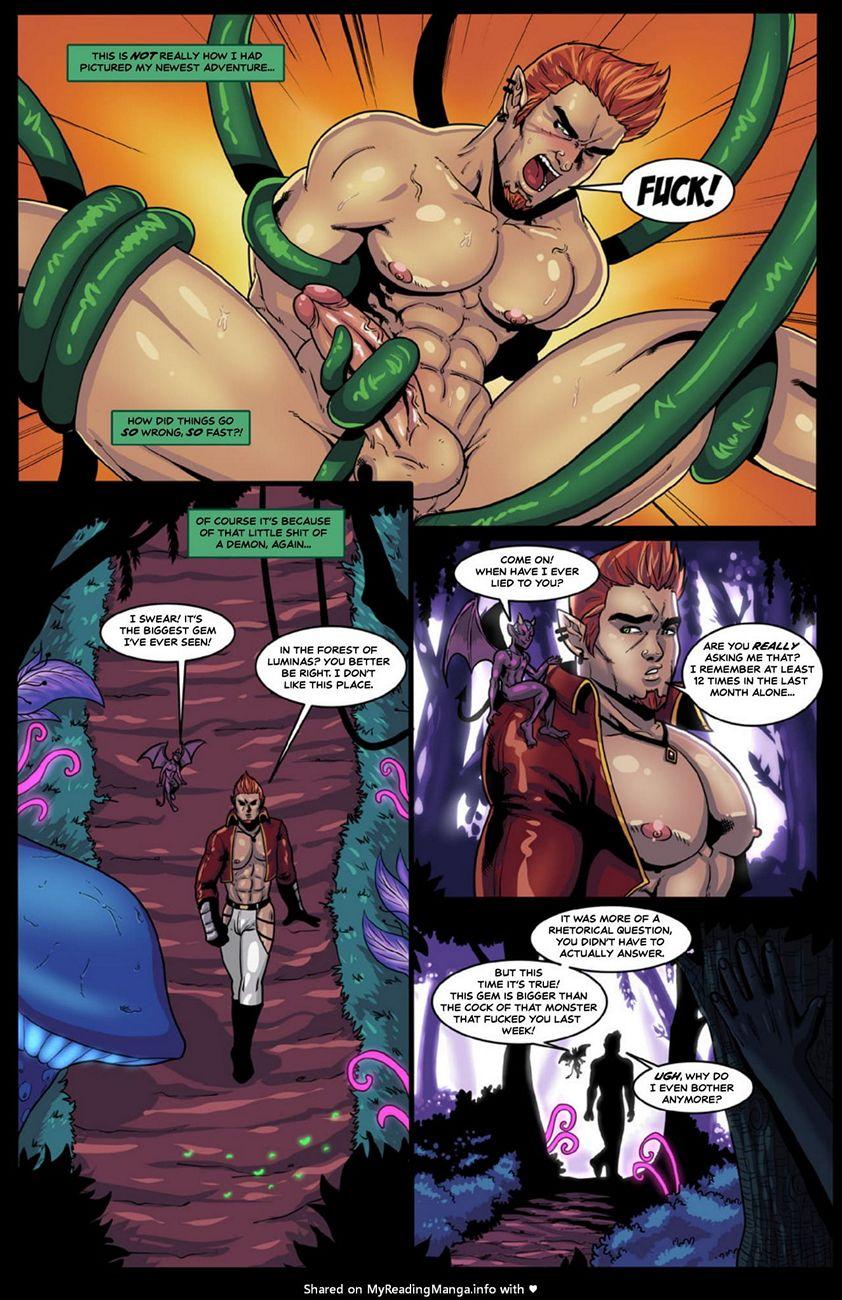 Alien Tentacle Porn Cartoon Comic tentacles archives - gay furry comics
