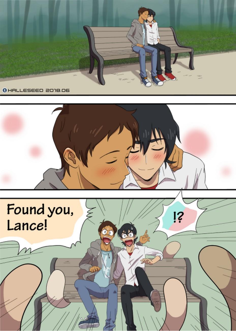 Lance, Keith And The Bih Bo Bi gay furry comic