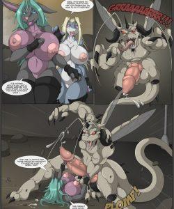 Last Survivor 3 009 and Gay furries comics