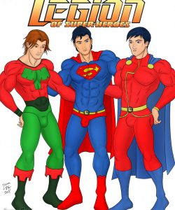 Legion Of Super-Heroes gay furry comic