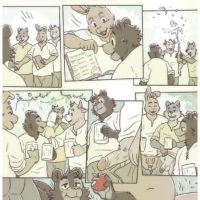 Like Apples From The Trees gay furry comic