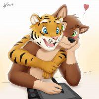 My Best Friend gay furry comic