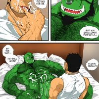 My Life With A Orc 1 - After Work gay furry comic