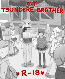 My Tsundere Brother 001 and Gay furries comics