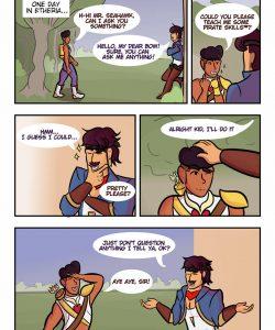 Pirate Skills gay furry comic