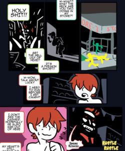 Run Robin Run 017 and Gay furries comics