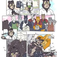 Running Errands With Willy Bear gay furry comic