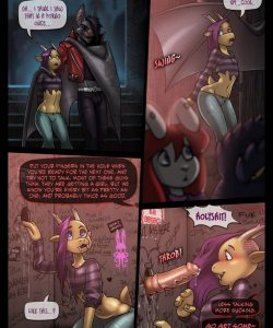 Scattered 1 gay furry comic