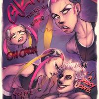 Sexy Mess gay furry comic