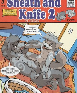 Sheath And Knife 2 001 and Gay furries comics
