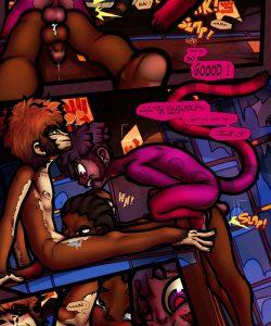 Simian Exposure 024 and Gay furries comics