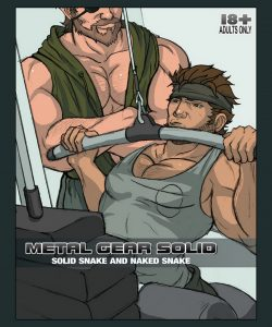 Solid Snake And Naked Snake gay furries