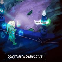 Spicy Meat & Sea Food Fry gay furry comic