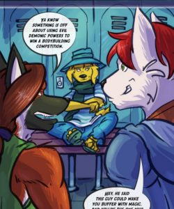Spiritus Animus gay furry comic