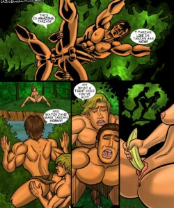 Tarzan gay furry comic