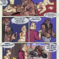 Tattoo Beast gay furry comic
