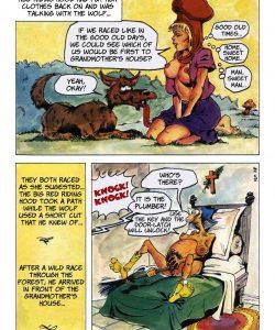 The Big Red Riding Hood gay furry comic