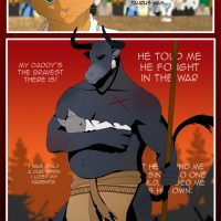 The Copulatory Tie 6 - Father's Love gay furry comic