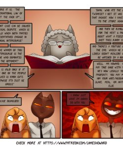 The Courtroom gay furry comic