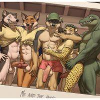 The D-Club gay furry comic