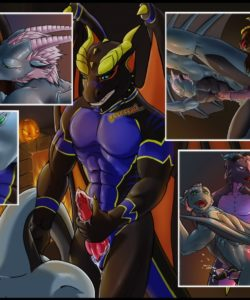 The Dragon's Guest 003 and Gay furries comics
