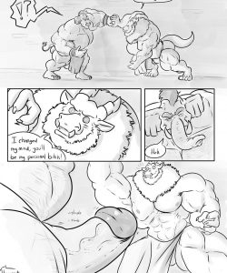 The Fall Of A King gay furry comic