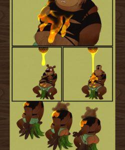 The Honey Pot gay furry comic