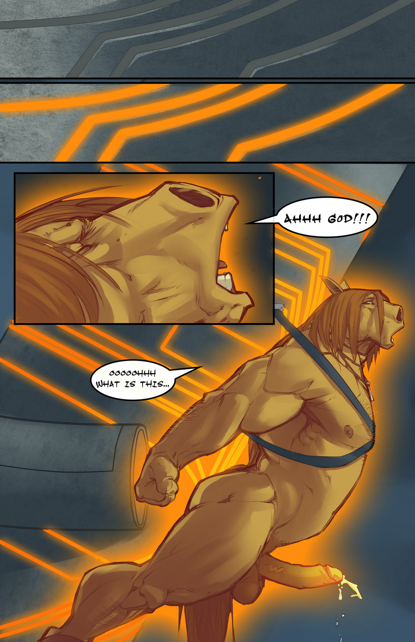 The Horse With No Name 1 gay furry comic