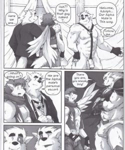 The Legacy Of Celune's Werewolves 2 gay furry comic