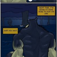The Maw Of The Beast gay furry comic