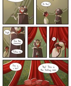 The Mazekeeper 005 and Gay furries comics