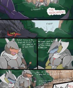 The Predicament 002 and Gay furries comics