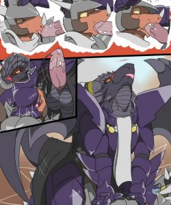The Predicament 006 and Gay furries comics