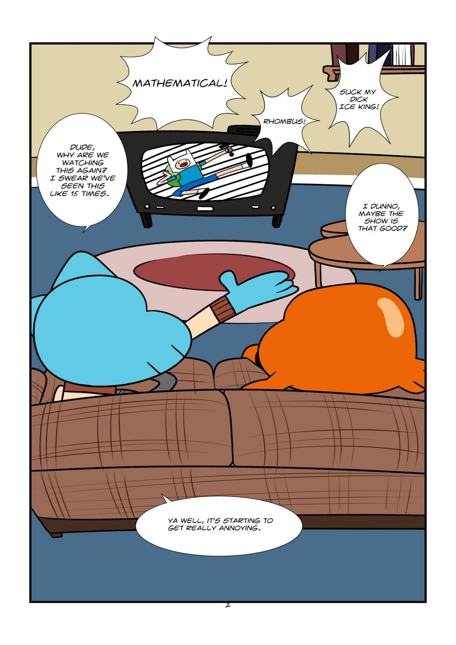 Garfield Porn the sexy world of gumball gay furries - gay furry comics