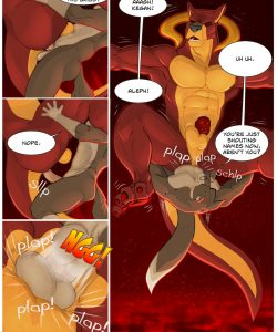 The Summoner 009 and Gay furries comics