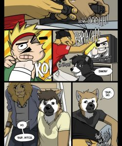 The Uninvited Guest gay furries