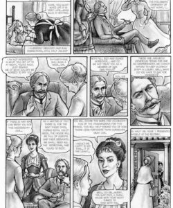 The Young Governess gay furry comic