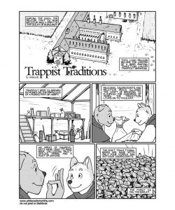 Trappist Traditions gay furry comic