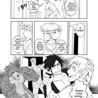 Tricky Treat gay furry comic