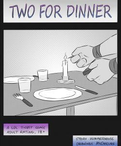Two For Dinner 001 and Gay furries comics