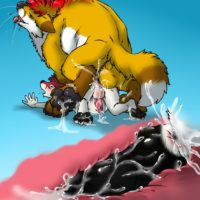 Unexpected Side Effects gay furry comic