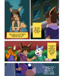 A Darker Shade Of Desire gay furry comic