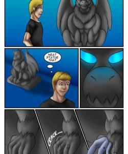 A Gargoyles Desire gay furry comic