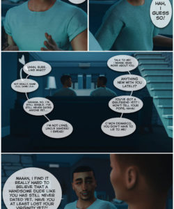 A Helping Hand 008 and Gay furries comics