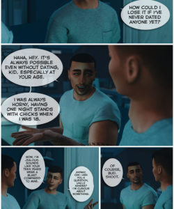 A Helping Hand 009 and Gay furries comics