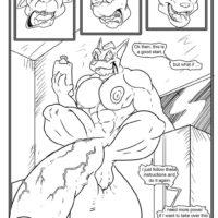 A Real Shocker 1 gay furry comic